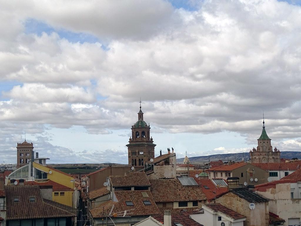 Teruel vista de torres y tejados