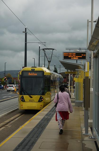 Audenshaw station (eastbound)
