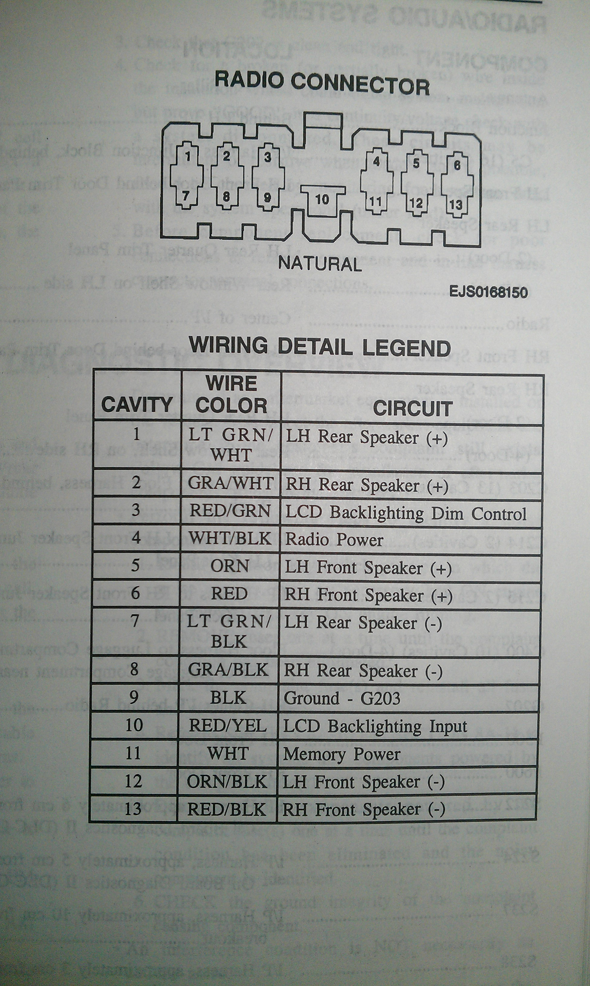 Toyota Corolla Radio Wiring Diagram On Wiring Diagram For 1993 Toyota