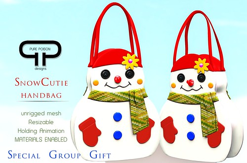 Pure Poison SnowCutie Handbag - Special Group Gift