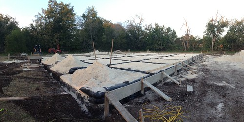 Honey house progress 11/14/13
