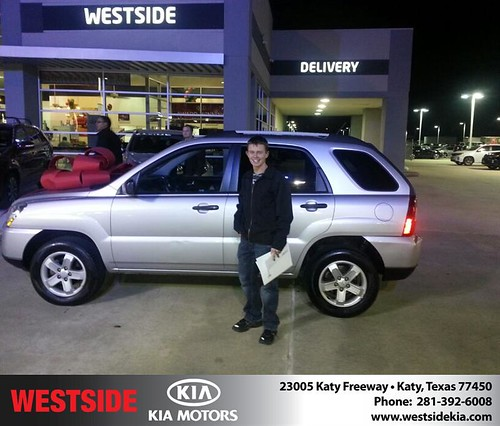 Happy Anniversary to Stephen Kilber on your 2009 #Kia #Sportage from Rubel Chowdhury and everyone at Westside Kia! #Anniversary by Westside KIA