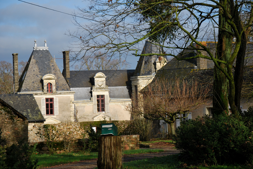 Castillo de la Giraudière. Autor, Vitruve