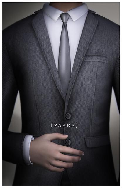 Zaara : Classic suit details