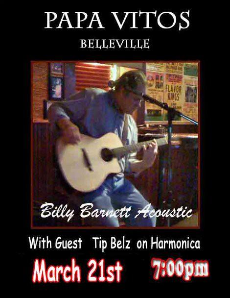 Billy Barnett 3-21-14