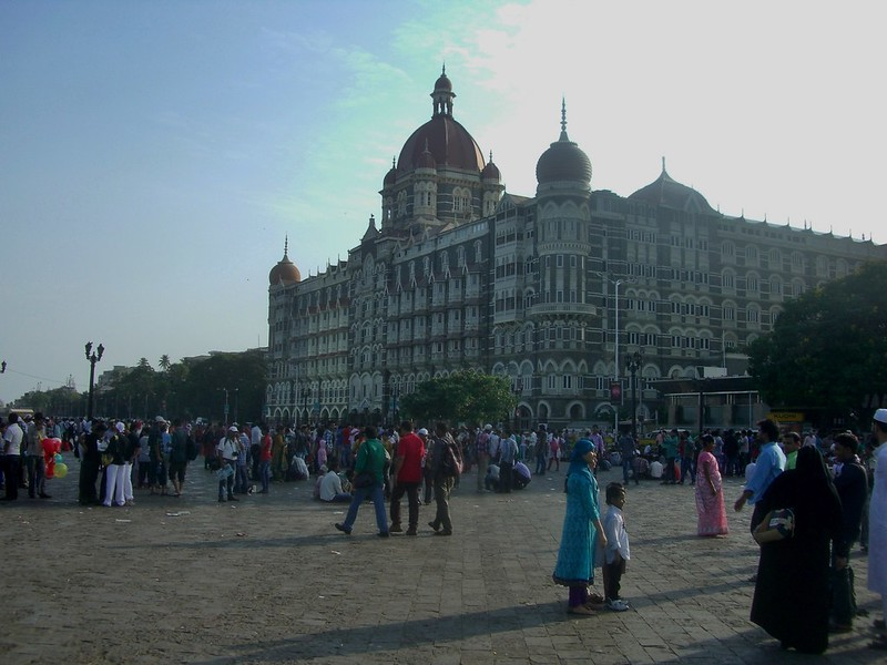 India Mumbai The Taj