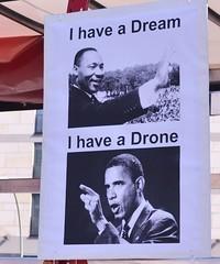 Auftakt: Obama die rote Karte zeigen Obama-I have a Drone