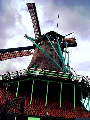 Windmill at the Netherlands by SpatzMe