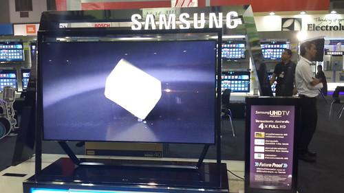 UHDTV 84 นิ้ว ภาพชัดมาก จาก Samsung