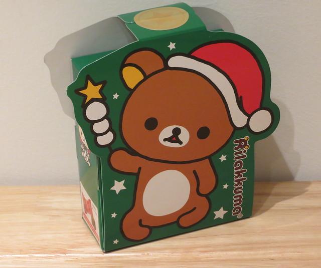 Rilakkuma Christmas chocolates