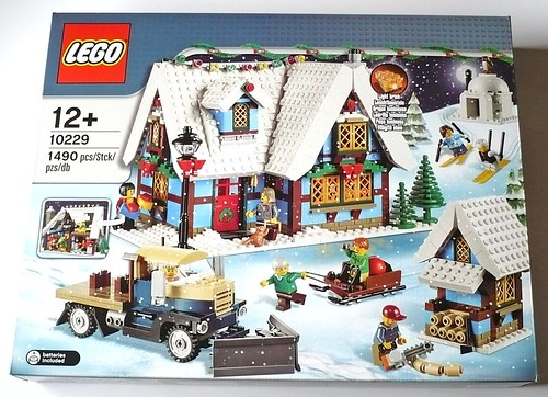 LEGO 10229 Winter Village Cottage box01