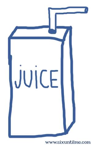How To Draw A Juice Box : juice, Juice, Until, Diabetes