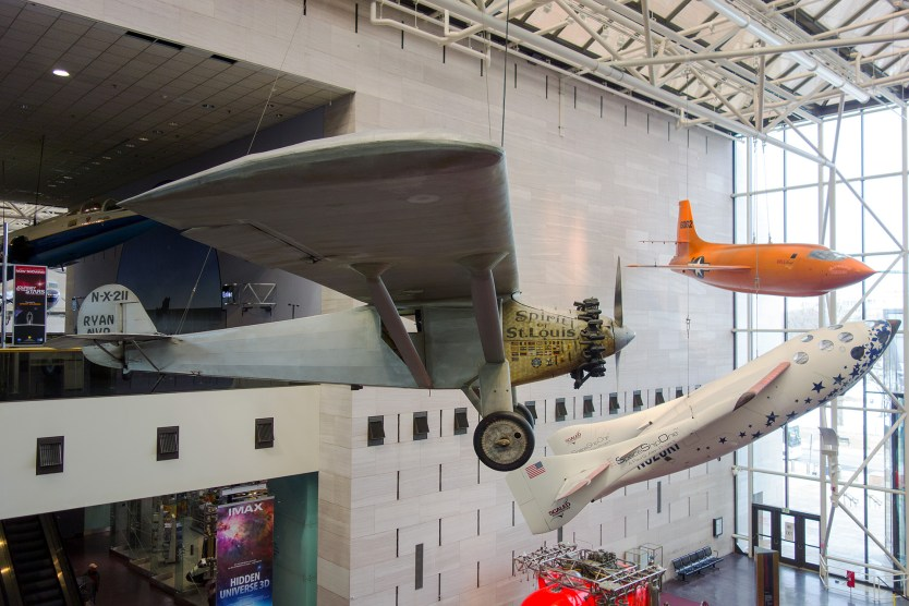 Spirit of St Louis, Smithsonian National Air & Space Museum.