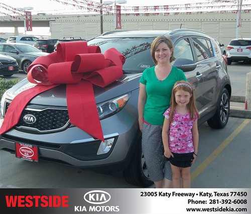 Westside KIA Houston Texas Customer Reviews and Testimonials - Michelle Groh by Westside KIA