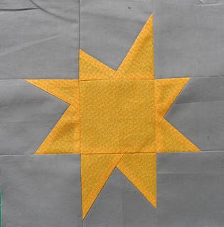yellow on grey star