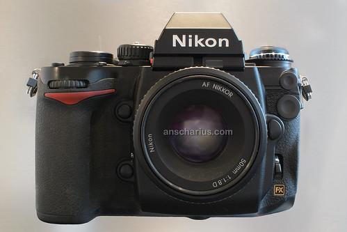 Nikon DF & AF-D 1.8/50mm