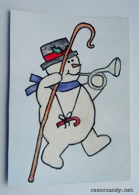 snowman - cane  (1)