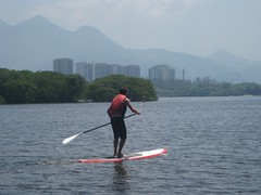 Paul Paddleboarding