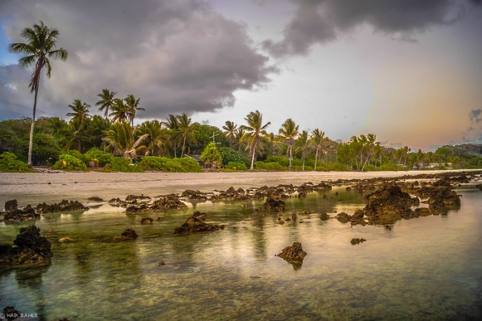 Evening Reflections | Nauru | South Pacific