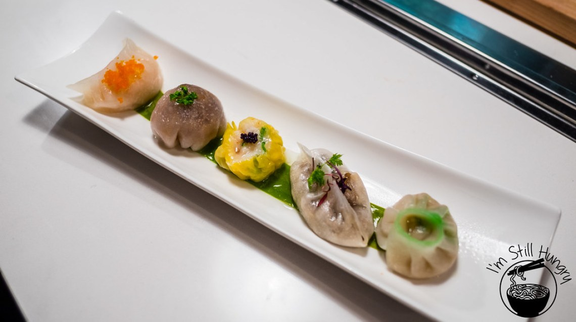 Love on top, tasting plate, potts point, dumplings