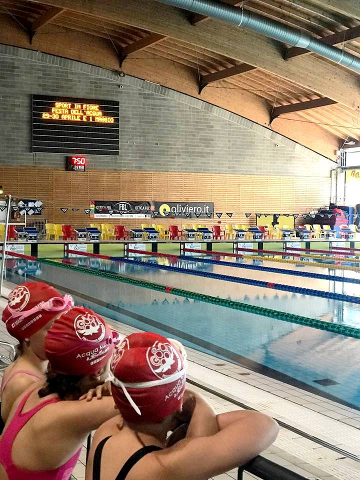 SPORTinFIORE – 3° Swimming games Aics open