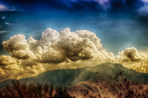 The Four Seasons Of Desert Clouds by hbmike2000