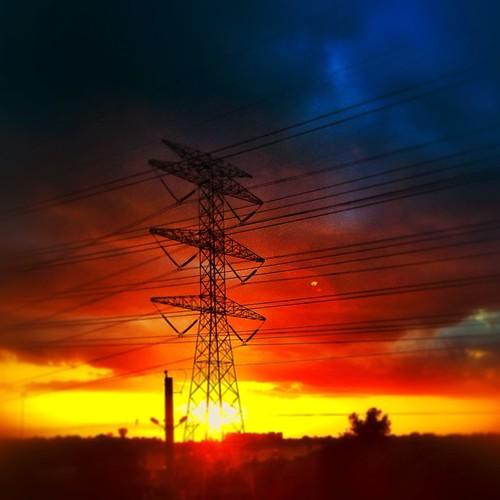 Texan Sunset by @MySoDotCom