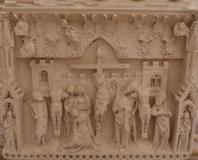 Ines tomb head (closeup)