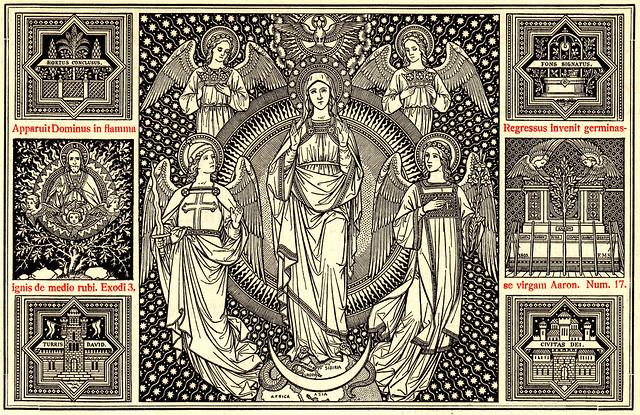 Missale Romanum (Altarbuch) 1923 - 8. Dezember