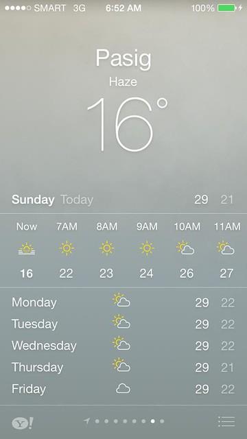 16 degrees