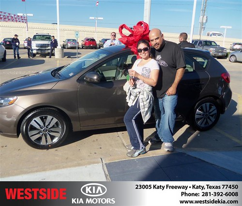 Happy Anniversary to Daniel Ochoa on your 2013 #Kia #Forte from Mohammed Ziauddin and everyone at Westside Kia! #Anniversary by Westside KIA