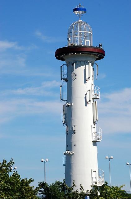 Leuchtturm auf der Donauinsel