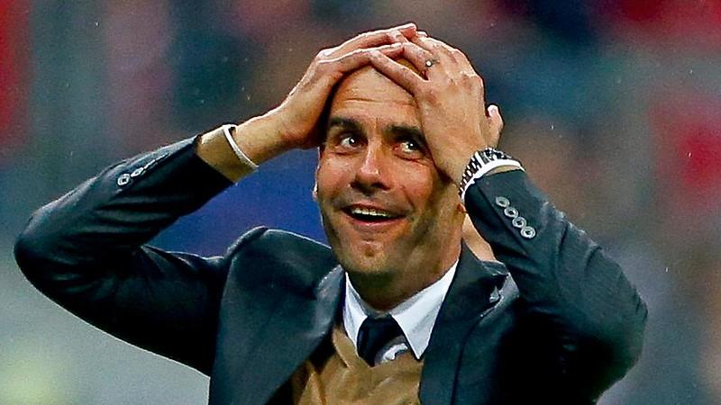 Guardiola on Lewandowski scoring 5 goals in 9 mins