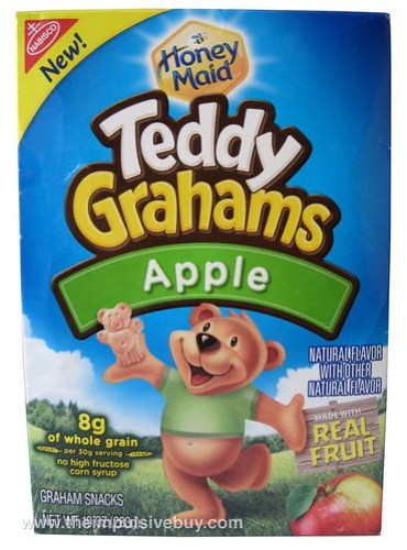 Honey Maid Teddy Grahams Apple