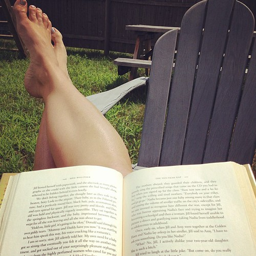 Finally, a reading break #summervacation day fifty