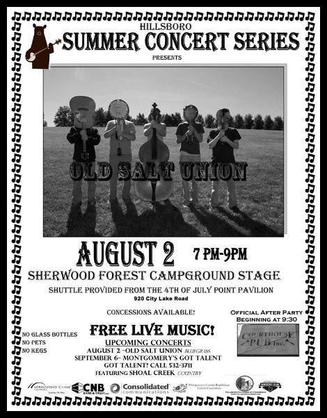 Hillsboro Summer Concert Series 8-2-13