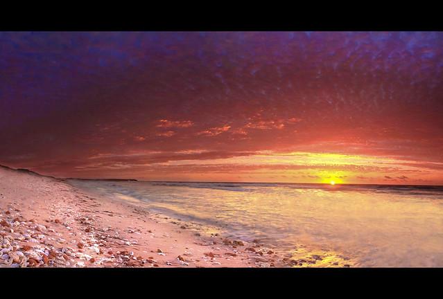 Quobba beach , Northwest Australia