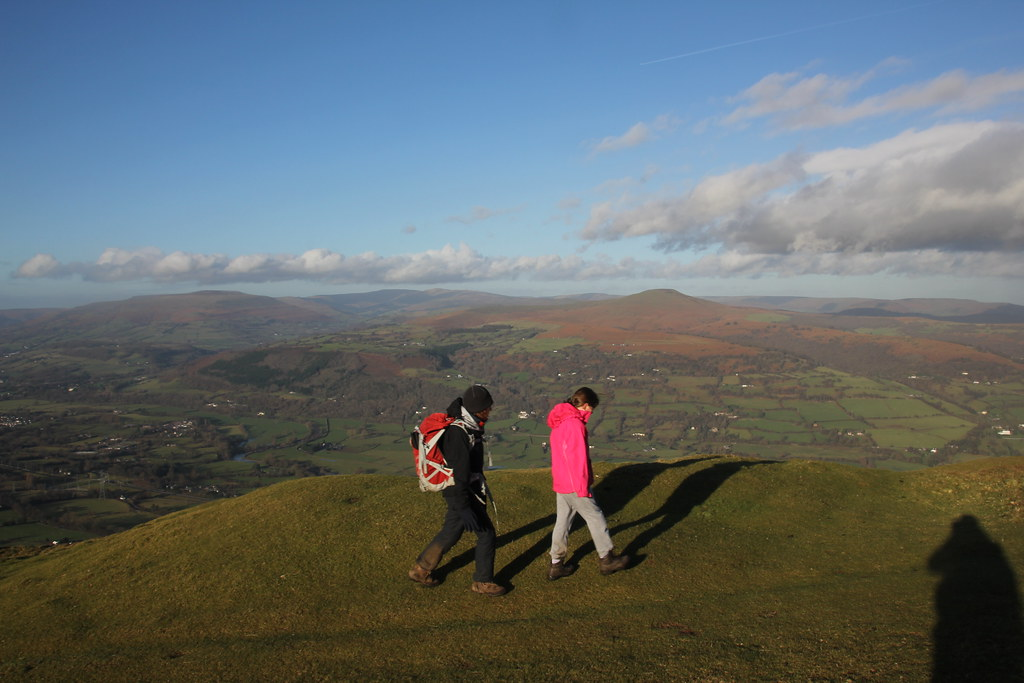 Blorenge, Sugar Loaf, black mountains