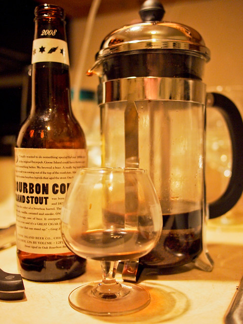 Goose Island BCS French Press Method