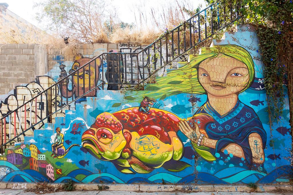 Street Art Valparaiso 11
