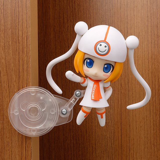 The clip stand is used on Nendoroid Gumako