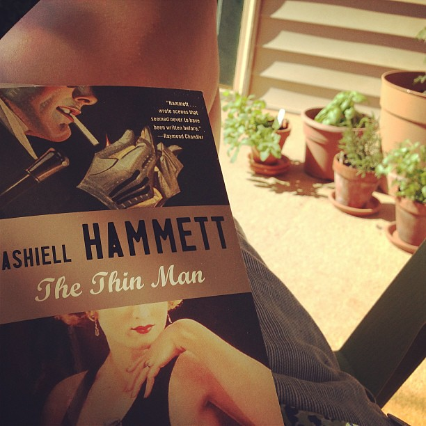 Dashiell Hammett time.