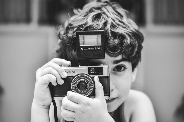The child and the camera