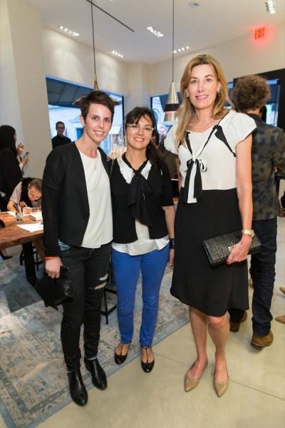 Jessica Silverman, Claudia Ceniceros, Susan Dunlevy