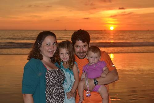 Playa Flamingo Sunset