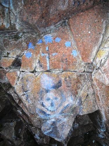 Grafit a la mina de la cova d'en Pere