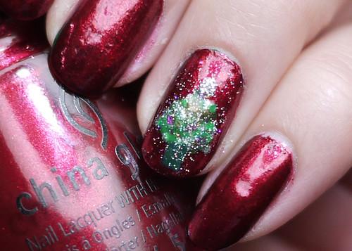 Holiday Nails Oh Christmas Tree