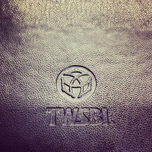 #TWSBI notebook back cover logo