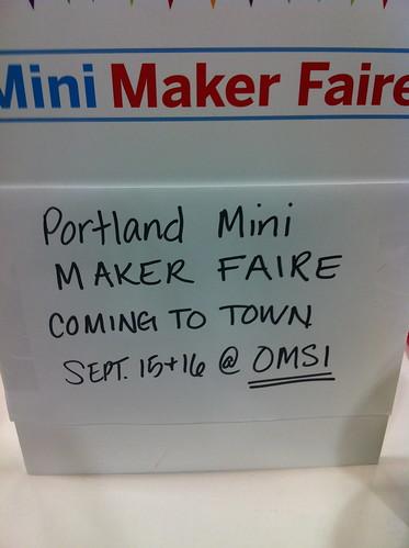 Mini Maker Faire<br /><br /><br /><br /> Portland