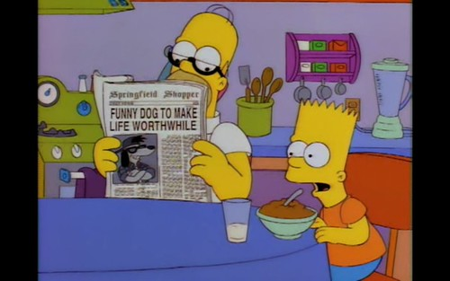 Funny dog to make life worthwhile (The Itchy & Scratchy & Poochie Show)